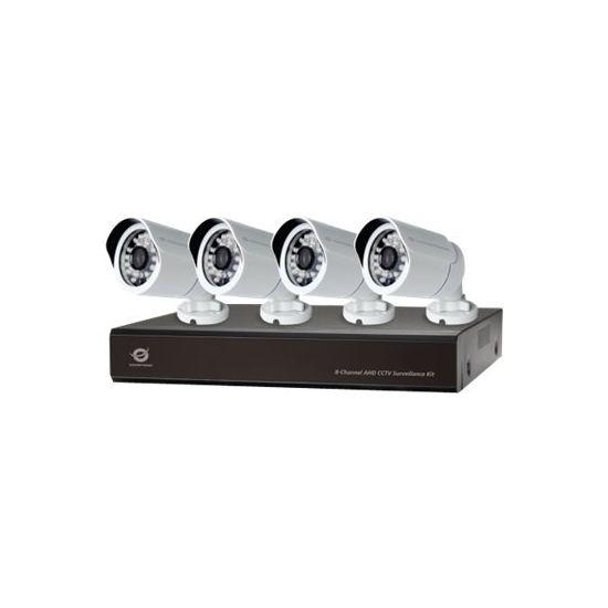 Conceptronic C8CCTVKITD10801TB - DVR + kamera(er)