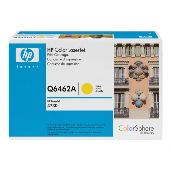 HP 644A - gul - original - LaserJet - tonerpatron (Q6462A)