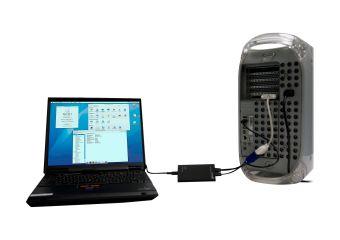 StarTech.com KVM Console to USB 2.0 Portable Laptop Crash Cart Adapter