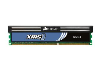 Corsair XMS3 &#45 4GB: 2x2GB &#45 DDR3 &#45 1600MHz &#45 DIMM 240-pin