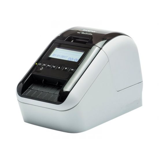 Brother QL-820NWB - etiketprinter - to-farvet (monokrom) - direkt termisk