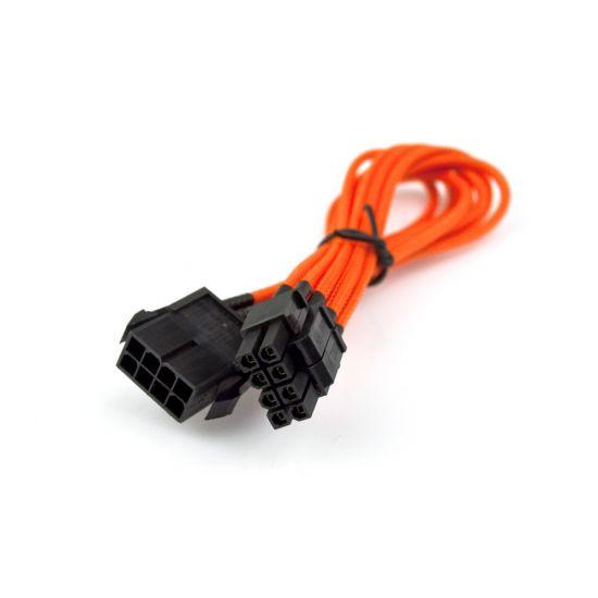 NZXT Premium CB 8P - 25cm Strøm-kabel Orange