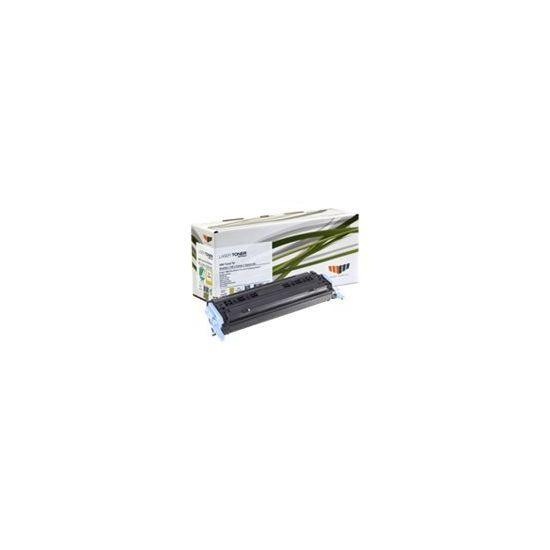 MM Print Supplies 15014DK - gul - Genproduceret - tonerpatron (alternativ til: HP Q6002A, HP 124A, Canon 9421A004, Canon CRT-707Y)