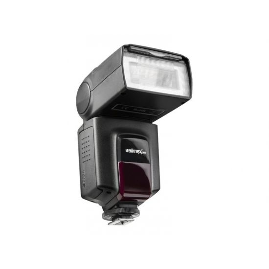 Walimex Pro System Flash Speedlite manual II - blitz hot-shoe-type med klemme