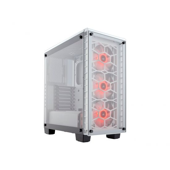 Corsair Crystal Series 460X RGB - Hvid - ATX