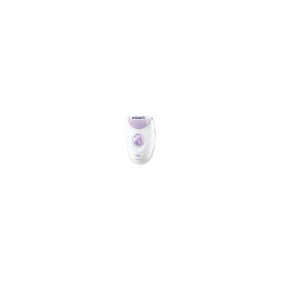 Braun Silk-epil SoftPerfection 3170 Solo - epilator - hvid/violet