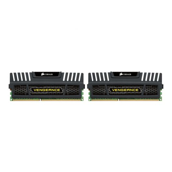 Corsair Vengeance &#45 16GB: 2x8GB &#45 DDR3 &#45 1600MHz &#45 DIMM 240-pin - CL10