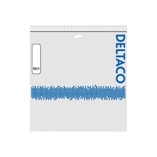 DELTACO patchkabel - 35 m - grå