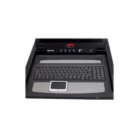 "APC LCD Console - KVM-konsol - 17"""