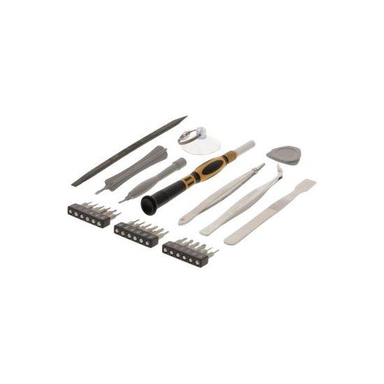 DELTACO Universal repair tool kit - skruetrækker med bitsæt