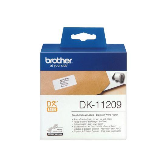 Brother DK-11209 - adresseetiketter