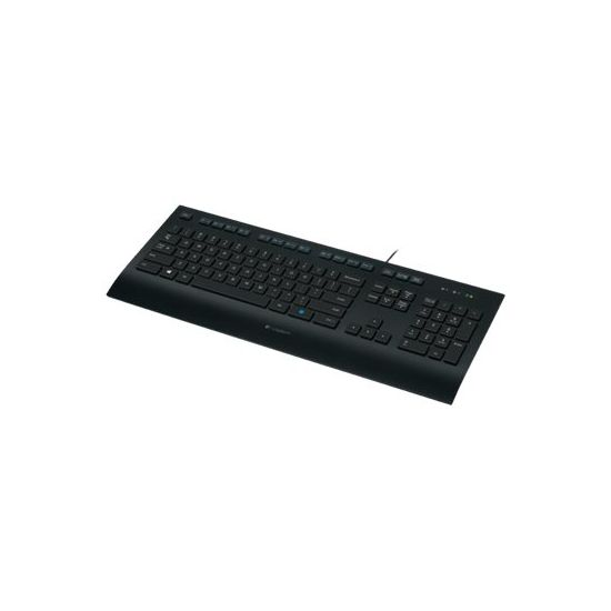 Logitech Corded Keyboard K280e - USB