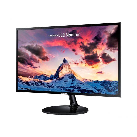 "Samsung SF352 Series S24F352FHU &#45 LED-Skærm 24"" Plane to Line Switching (PLS) 4ms - Full HD 1920x1080 ved 60Hz"