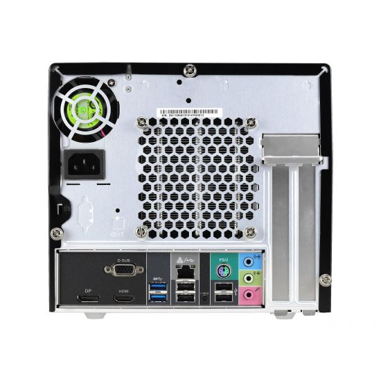 Shuttle XPC cube SH110R4 - mini PC - uden CPU - 0 MB - 0 GB
