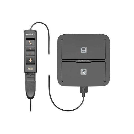 Plantronics MDA490 QD - switch til håndset/computer/headset