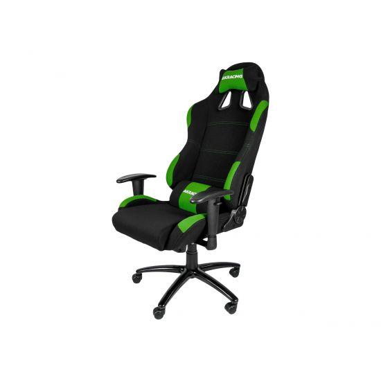 AKRACING Gaming Chair - sort/grøn