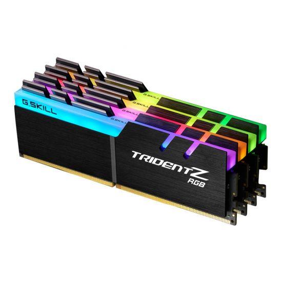 G.Skill TridentZ RGB Series &#45 32GB: 4x8GB &#45 DDR4 &#45 3200MHz &#45 DIMM 288-PIN - CL16