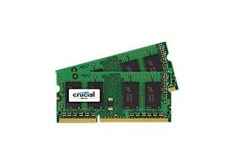 Crucial &#45 4GB: 2x2GB &#45 DDR3L &#45 1600MHz &#45 SO DIMM 204-PIN