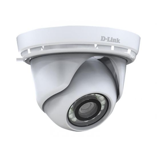 D-Link DCS-4802E Full HD Outdoor PoE Mini Dome Camera - netværksovervågningskamera