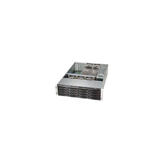 Supermicro SC836 BE16-R920B - rackversion - 3U - udvidet ATX