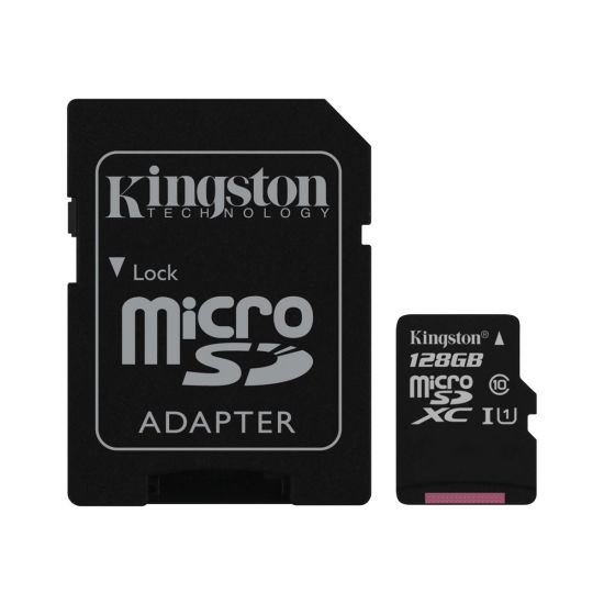 Kingston Canvas Select - flashhukommelseskort - 128 GB - microSDXC UHS-I