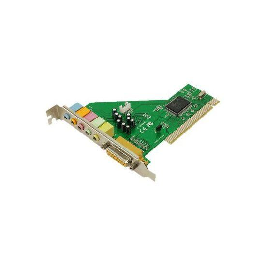 LogiLink PCI Soundcard Dolby 5.1 - lydkort
