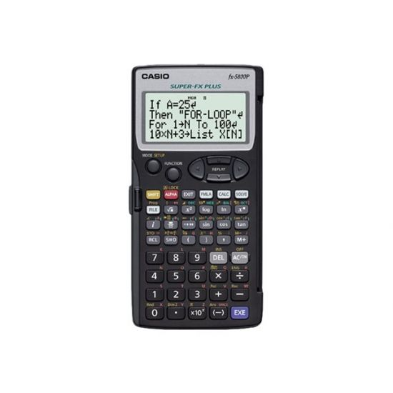 Casio FX-5800P - videnskabelig regnemaskine