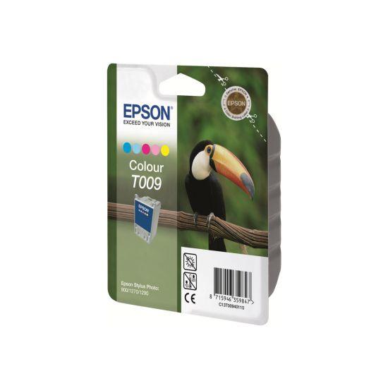 Epson T009 - farve (cyan, magenta, gul, lys cyan, lys magenta) - original - blækpatron