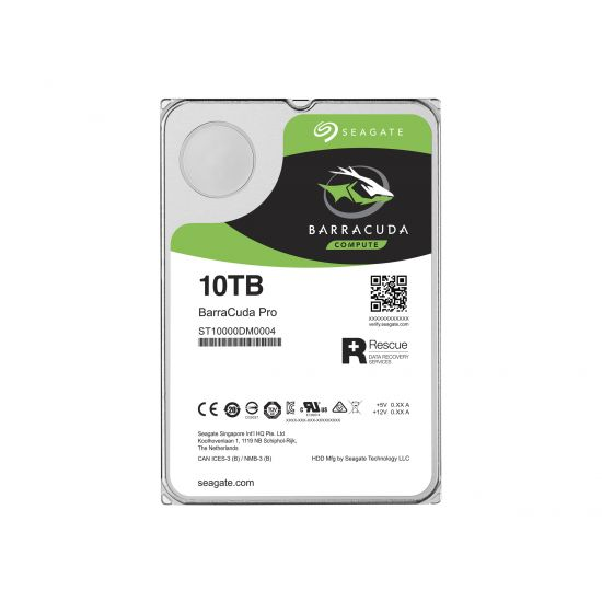Seagate Barracuda Pro ST10000DM0004 &#45 10TB - SATA 6 Gb/s