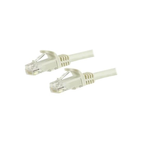 StarTech.com 7m White Cat6 / Cat 6 Snagless Patch Cable 7 m