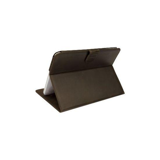 D. Bramante 10.1´´ Folio til Galaxy Tab 3 i Jægerbrun Læder