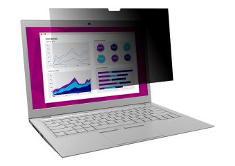 3M High Clarity databeskyttelsesfilter notebook privacy-filter