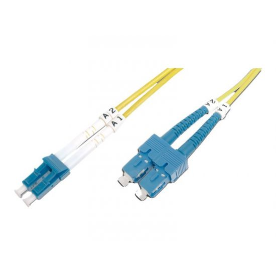 DIGITUS Patch Cable - patchkabel - 1 m. - gul