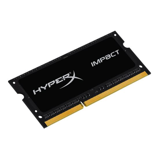HyperX Impact Black Series &#45 8GB &#45 DDR3L &#45 1600MHz &#45 SO DIMM 204-PIN - CL9