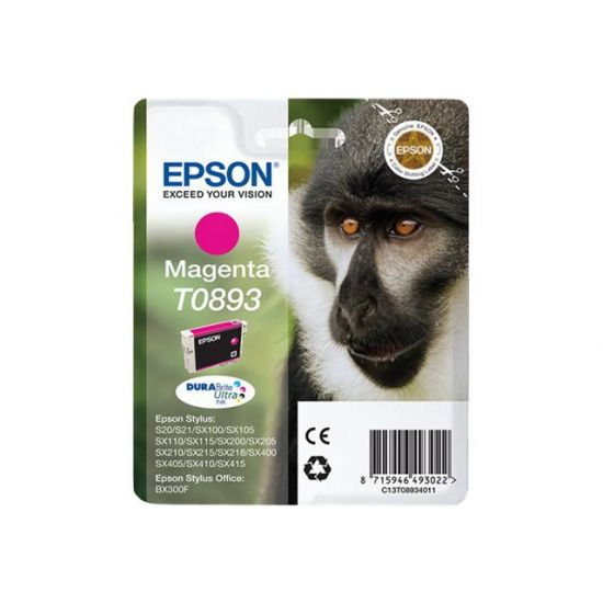 Epson T0893 - magenta - original - blækpatron