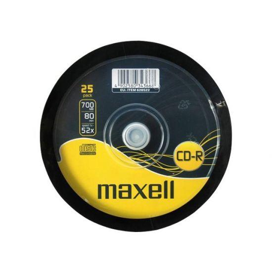 Maxell - CD-R x 25 - 700 MB - lagringsmedie