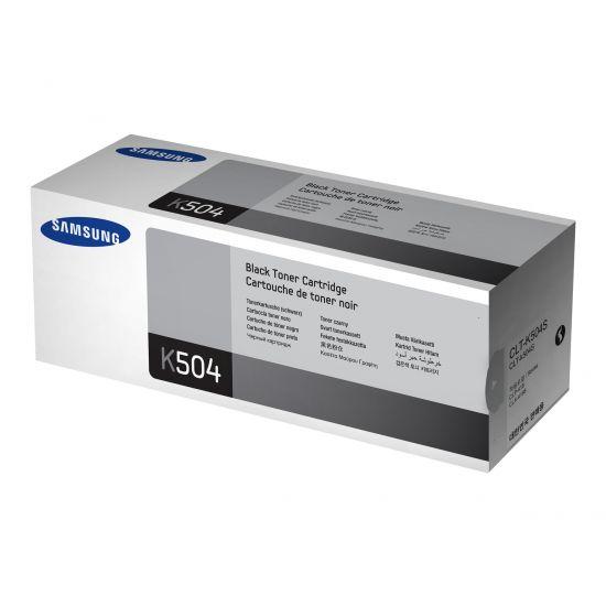 Samsung CLT-K504S - sort - original - tonerpatron