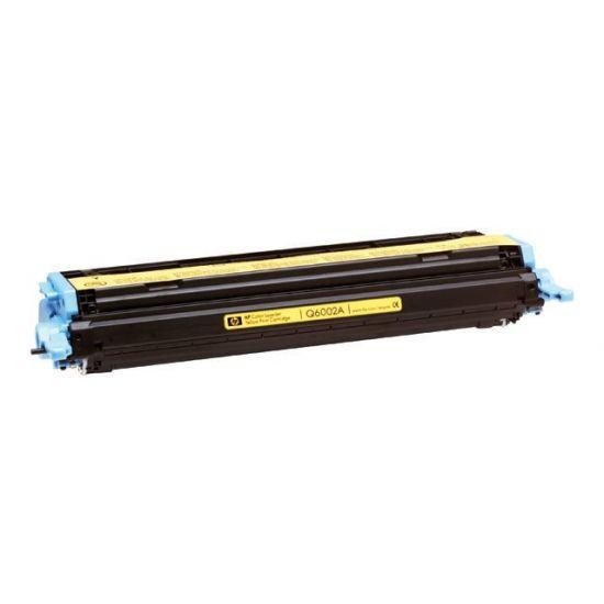 HP 124A - gul - original - LaserJet - tonerpatron (Q6002A)