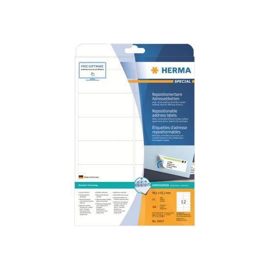 HERMA Special - adresseetiketter - 300 etikette(r)