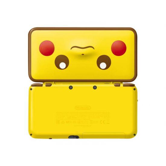 New Nintendo 2DS XL - Pikachu Edition - håndholdt spillekontrolenhed
