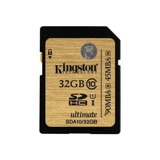 Kingston Ultimate - flashhukommelseskort - 32 GB - SDHC
