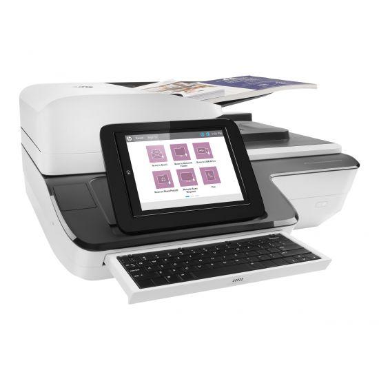 HP ScanJet Enterprise Flow N9120 fn2 Flatbed Scanner - dokumentscanner - desktopmodel - USB 2.0, Gigabit LAN, USB 2.0 (Host)
