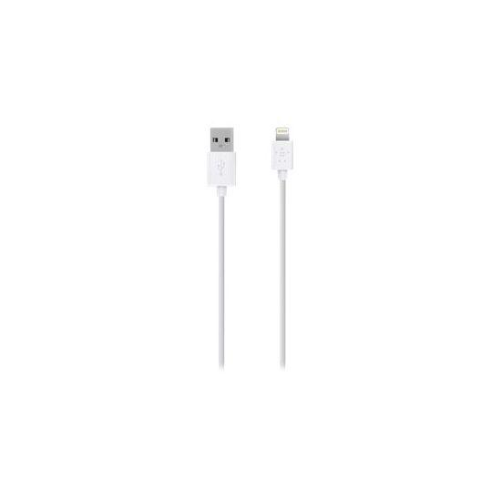Belkin Charge/Sync Cable - Lightning-kabel - Lightning / USB - 3 m