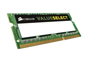 Corsair Value Select &#45 8GB &#45 DDR3L &#45 1600MHz &#45 SO DIMM 204-PIN