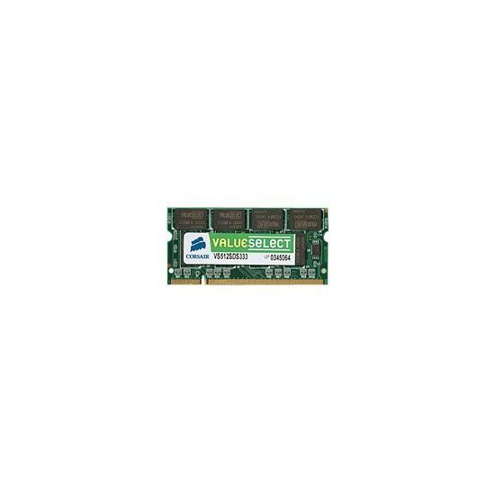 Corsair Value Select - DDR2 - 1 GB - SO DIMM 200-PIN