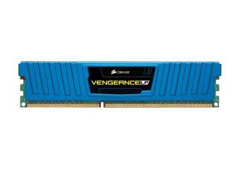 Corsair Vengeance &#45 16GB: 4x4GB &#45 DDR3 &#45 1600MHz &#45 DIMM 240-pin lav profil