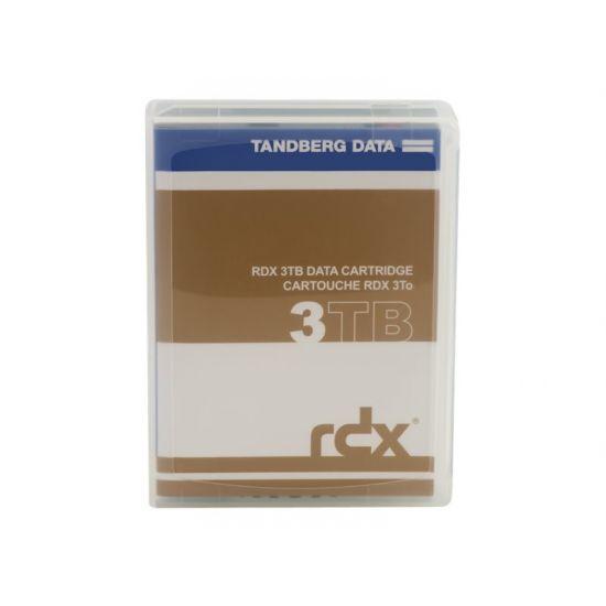 Tandberg RDX QuikStor - RDX x 1 - 3 TB - lagringsmedie