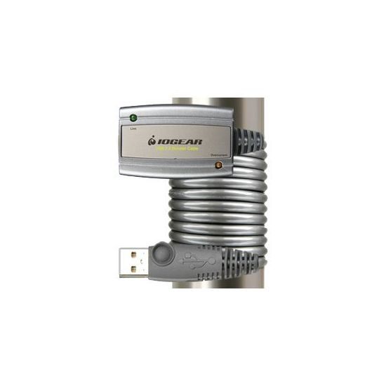IOGEAR USB 2.0 Booster Cable GUE216 - USB-forlængerkabel - USB 2.0