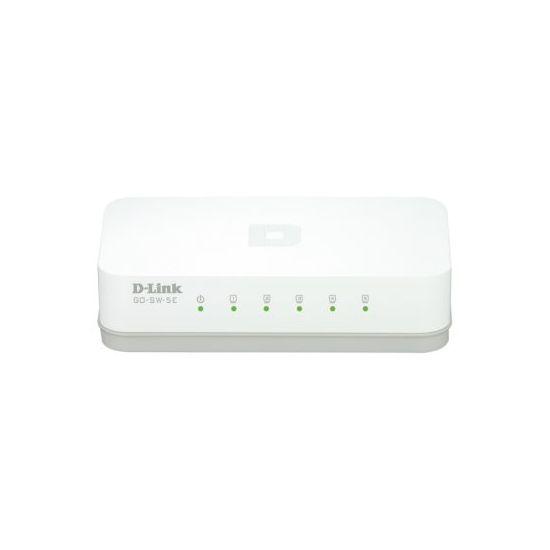 dlinkgo 5-Port Fast Ethernet Easy Desktop Switch GO-SW-5E - switch - 5 porte