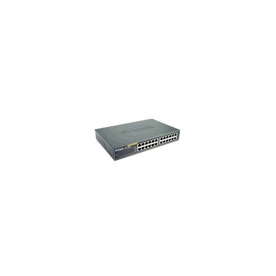 D-Link DES 1024D - switch - 24 porte